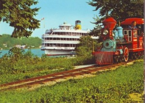 columbia-leaving-boblo-island-1948-train-ride-in-foreground-postcard-465x331